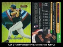 1996 Bowmans Best Previews Refractors #BBP28