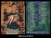 1996 Circa #199 CL