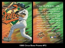 1996 Circa Boss Promo #P2