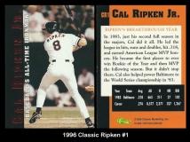 1996 Classic Ripken #1