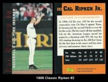 1996 Classic Ripken #2