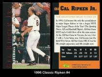 1996 Classic Ripken #4