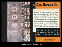 1996 Classic Ripken #6