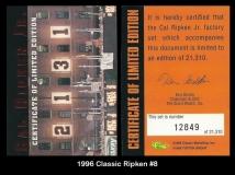 1996 Classic Ripken #8