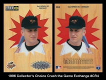 1996 Collectors Choice Crash the Game Exchange #CR4