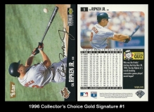1996 Collectors Choice Gold Signature #1