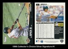 1996 Collectors Choice Silver Signature #1