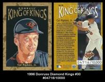 1996 Donruss Diamond Kings #30