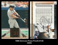 1996 Donruss Press Proofs #145