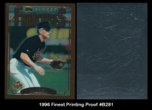 1996 Finest Printing Proof #B281