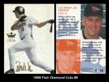 1996 Flair Diamond Cuts #9
