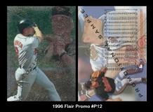 1996 Flair Promo #P12