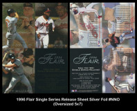 1996-Flair-Single-Series-Release-Sheet-Silver-Foil-NNO