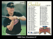 1996 Fleer Checklists #7