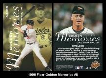1996 Fleer Golden Memories #8