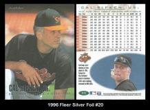 1996 Fleer Silver Foil #20