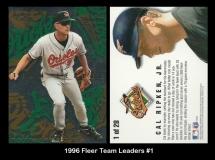 1996 Fleer Team Leaders #1