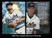 1996 Fleer Update Diamond Tribute #8