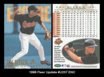 1996 Fleer Update #U237 ENC