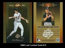 1996 Leaf Limited Gold #15