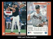 1996 Leaf Preferred #22