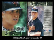1996 Leaf Preferred Staremaster #7