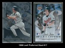 1996 Leaf Preferred Steel #17
