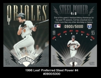 1996 Leaf Preferred Steel Power #4