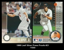 1996 Leaf Silver Press Proofs #21