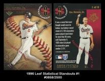 1996 Leaf Statistical Standouts #1
