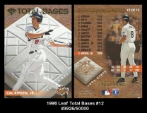1996 Leaf Total Bases #12