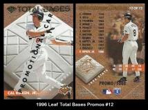 1996 Leaf Total Bases Promos #12