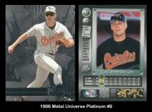 1996 Metal Universe Platinum #9