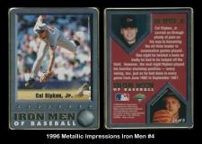 1996 Metallic Impressions Iron Men #4
