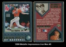 1996 Metallic Impressions Iron Men #5