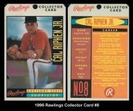 1996 Rawling Collector Card #8