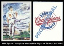 1996 Sports Champions Memorabilia Magazine Promo Card #NNO