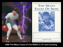 1996 The Many Faces of Iron #NNO 2131 and Counting