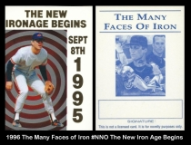 1996 The Many Faces of Iron #NNO The New Iron Age Begins