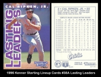 1996 Kenner Starting Lineup Cards #38A Lasting Leaders