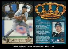 1996 Pacific Gold Crown Die Cuts #DC15