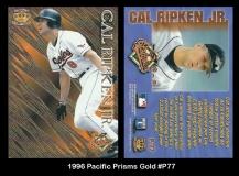 1996 Pacific Prisms Gold #P77