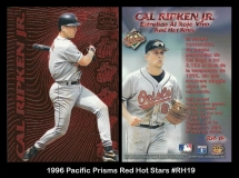 1996 Pacific Prisms Red Hot Stas #RH19