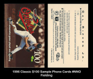 1996-Classic-100-Sample-Phone-Cards-NNO-Fielding