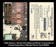1996-Classic-Sprint-37th-Winter-Convention-and-Candy-Exposition-5-Minute-Phone-Card-NNO