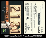 1996 Classic Sprint $5 Phone Cards #NNO 2131