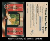 1996-Coca-COla-Sprint-2-Phone-Cards-5