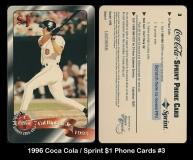 1996 Coca Cola Sprint $1 Phone Cards #3