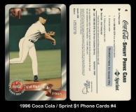 1996 Coca Cola Sprint $1 Phone Cards #4