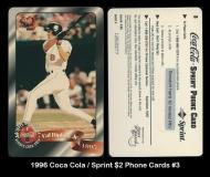 1996 Coca Cola Sprint $2 Phone Cards #3